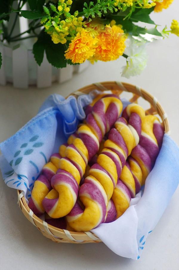 Cách làm bánh khoai 3 màu cực kỳ lạ mắt và hấp dẫn phần 6