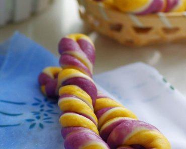 Cách làm bánh khoai 3 màu cực kỳ lạ mắt và hấp dẫn phần 7