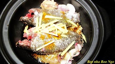 cách làm món cá rô đồng rô phi kho tộ kho tiêu thơm mùa nước nổi phần 1