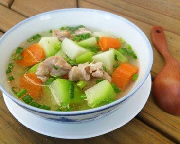 Bí quyết nấu món canh gà nấu su su siêu chuẩn, siêu ngon cho cả nhà.