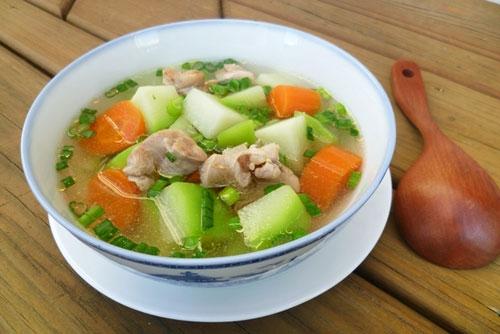 Bí quyết nấu món canh gà nấu su su siêu chuẩn, siêu ngon cho cả nhà