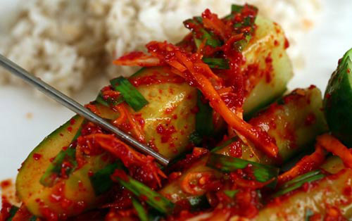 cách làm kim chi củ cải, cải thảo, dưa chuột ngon đúng kiểu Hàn Quốc phần 3