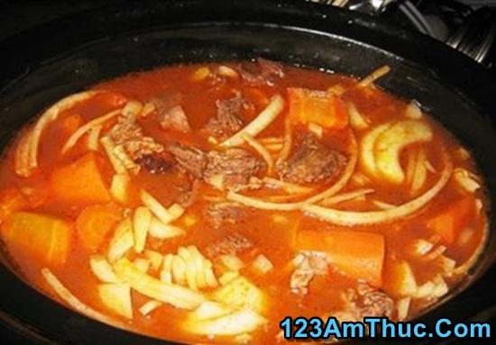 cách làm món bò kho chay thơm ngon đậm đà với nước dừa theo hương vị miền nam