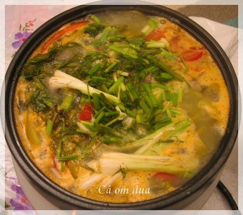 cách làm món cá chép om dưa ngon và bổ cho sức khỏe đậm chất Hà Nội