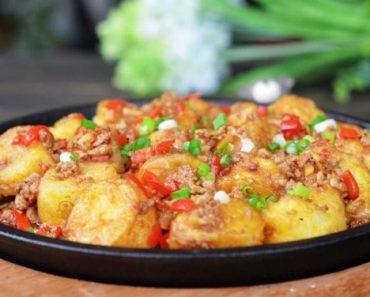 cách làm món đậu hũ sốt cà chua với thịt bằm ngon tuyệt ăn là ghiền