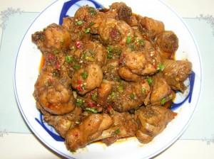 cách nấu món gà xào sả ớt cay ngon của người Hà Nội