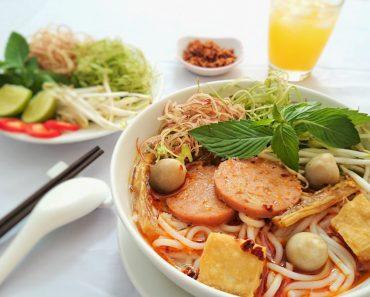 Cách nấu món bún chay thơm ngon đậm đà hương vị Huế