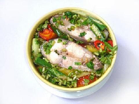 nức lòng với cách nấu canh chua cá hú ngon vô đối