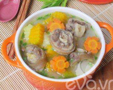 cách nấu canh đuôi bò hầm khoai tây cà rốt thơm ngon ăn là ghiền