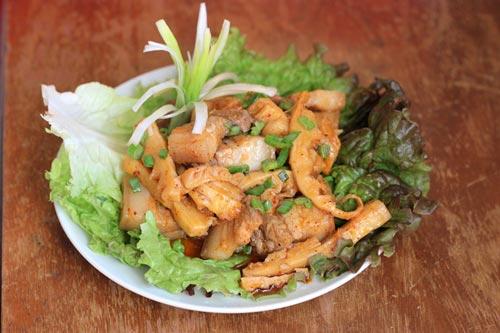 cách nấu món thịt heo kho măng tươi thơm ngon dễ làm