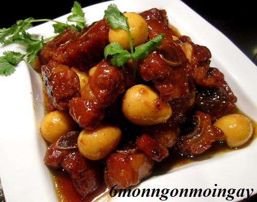 Cách nấu món thịt kho tàu đơn giản mà ngon ngất ngây phần 1