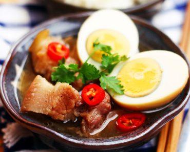 cách nấu thịt kho tàu kiểu miền Nam đơn giản mà rất ngon