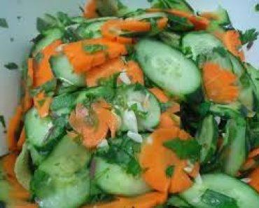 cách làm dưa góp từ dưa chuột và cà rốt giòn ngon hấp dẫn