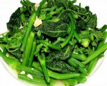 cách làm rau bí xào tỏi xanh ngon như nhà hàng 5 sao