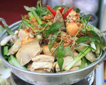cách nấu lẩu gà hấp hèm thơm ngon đơn giản của người Hóc Môn