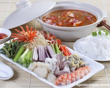 Cách nấu lẩu hải sản thập cẩm ngon nhất