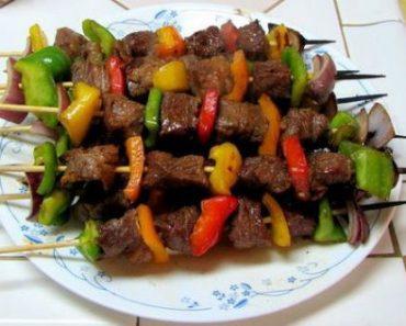 cách tẩm ướp thịt bò nướng xiên ngon như kiểu Hàn Quốc