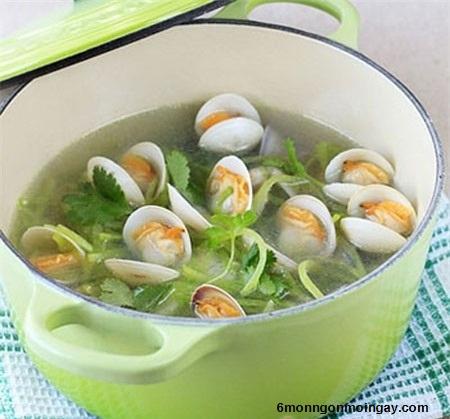Cách nấu canh ngao chua cay cho bữa cơm ngon