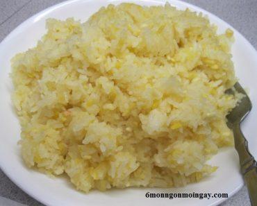 cách nấu xôi đậu xanh nước cốt dừa bằng nồi cơm điện ngon tuyệt