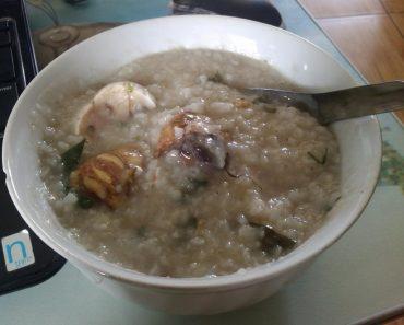 cách nấu cháo trứng vịt lộn tốt cho người mới ốm dậy