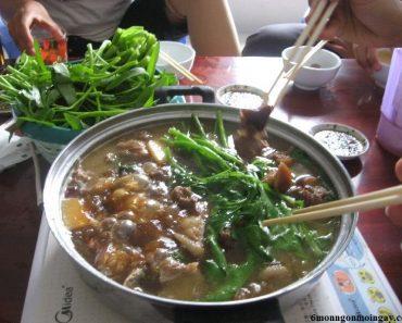 cách nấu lẩu chó đơn giản mà ngon của Người Tứ Xuyên