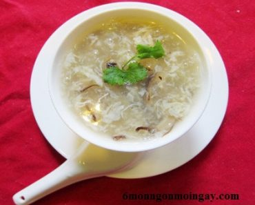 cách nấu súp gà nấm hương thơm ngon bổ dưỡng