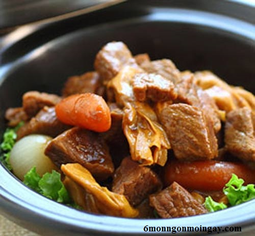 cách nấu thịt bò kho tàu ngon ngất ngây