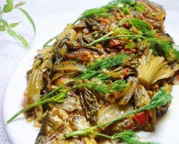 cách làm món cá điêu hồng om dưa cải chua ngon tuyệt