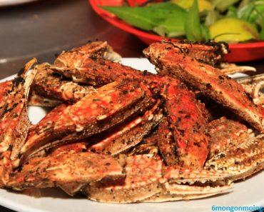cách làm món càng ghẹ rang muối ớt cay cay ngon tuyệt