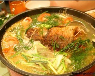 cách nấu món lẩu cá chép om dưa đơn giản mà ngon tuyệt