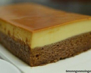 cách làm bánh gato flan ngon thơm độc đáo
