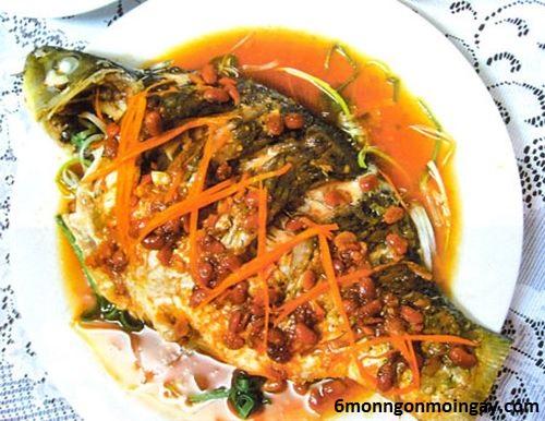 cách làm cá chép chưng tương hột bổ sung dưỡng chất cho bữa ăn cả nhà