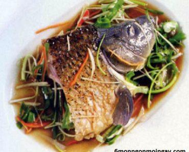 cách làm cá chép hấp xì dầu đãi khách trong các bữa tiệc