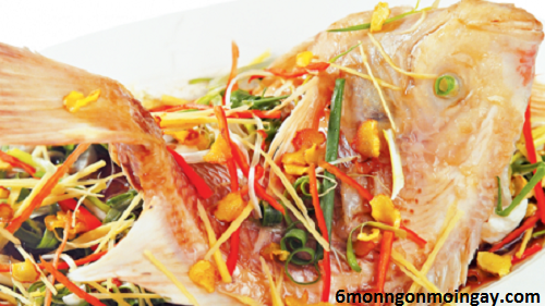 cách làm cá diêu hồng hấp sả thơm lừng ngon miệng