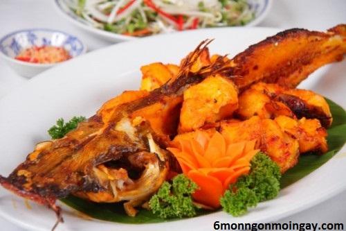 cách làm cá lăng nướng muối ớt dồi dào dinh dưỡng