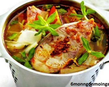 cách làm cá tầm nấu măng chua ngon khỏi phải chê