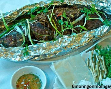 cách làm cá trê nướng giấy bạc tuyệt ngon cho bữa tiệc nướng ngoài trời