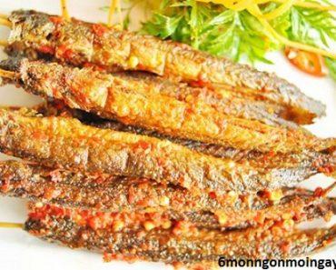 cách làm món cá kèo nướng muối ớt càng ăn càng nghiện
