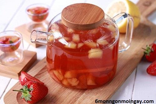 cách làm trà trái cây giải nhiệt cho mùa hè