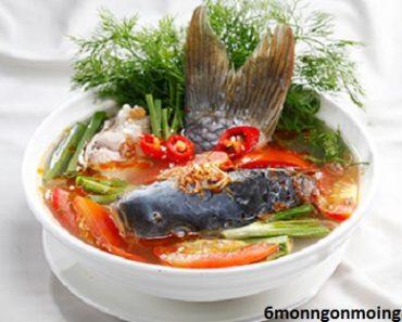 cách nấu canh cá chép nấu riêu tốt cho bà bầu