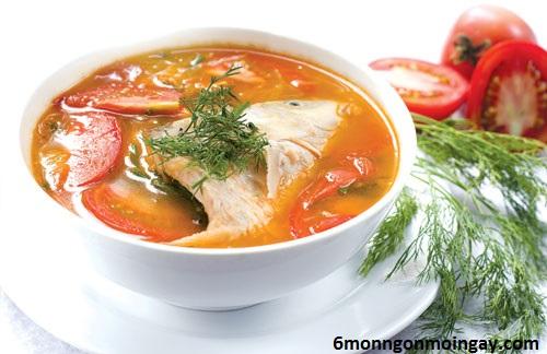 cách nấu canh cá diêu hồng nấu riêu có vị ngọt thơm