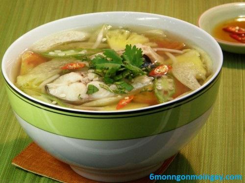 cách nấu canh chua cá bông lau đậm đà kiểu miền Nam