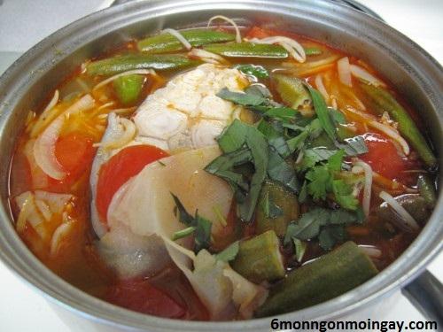 cách nấu canh chua cá nheo chua ngon giải nhiệt ngày hè
