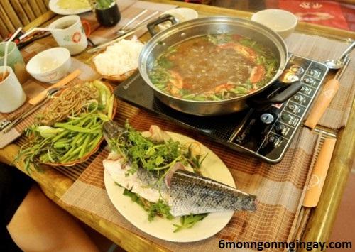 cách nấu lẩu cá lóc ngon đơn giản đặc trưng Nam Bộ