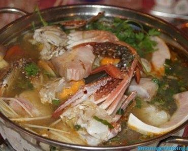 cách nấu lẩu ghẹ nấu măng chua đặc biệt ngon thơm