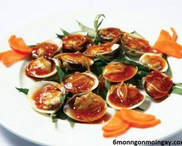 cách làm ngao xào sốt me ngon chua chua hấp dẫn vô cùng