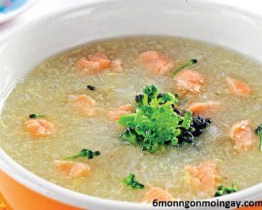 cách nấu súp cá hồi khoai tây bổ sung dinh dưỡng cho trẻ biếng ăn
