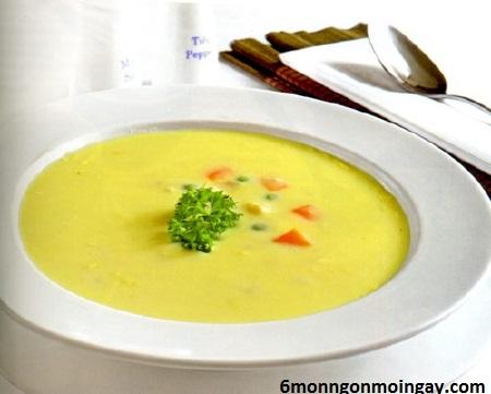 cách nấu súp khoai tây cho trẻ em đến tuổi ăn dặm