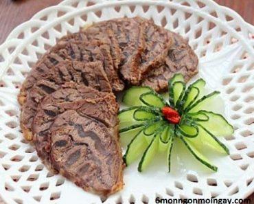 cách làm thịt bò kho khô ngon đúng kiểu dân xứ Nghệ