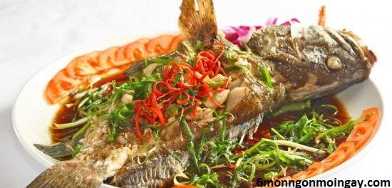 cách làm cá bống mú hấp Hongkong ngon như ngoài nhà hàng